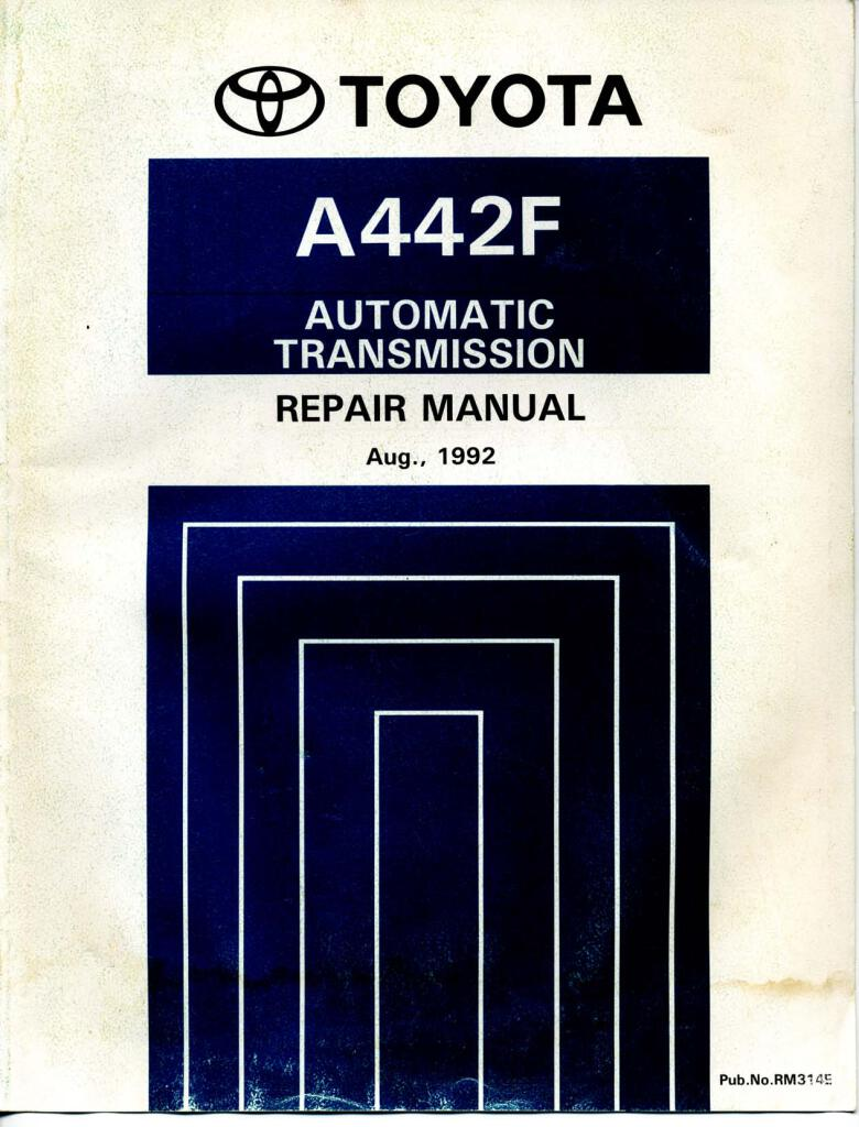land cruiser a442f automatic transmission repair manual.pdf ... on