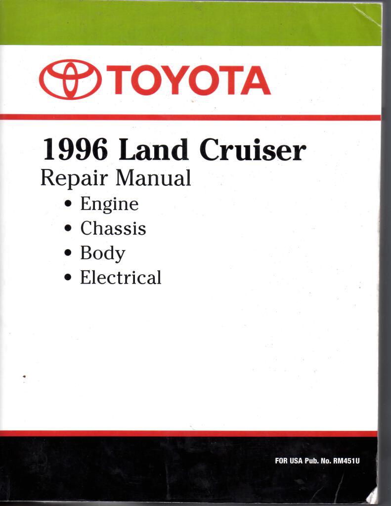1996 Land Cruiser Repair Manual Pdf  38 3 Mb